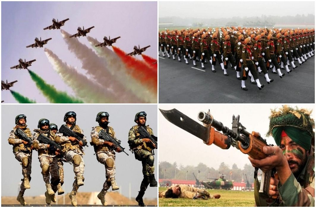 Indian Army in the fourth position in the world