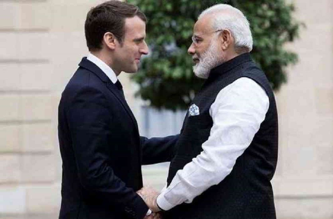 French President Emmanuel Macron will be on a tour of India