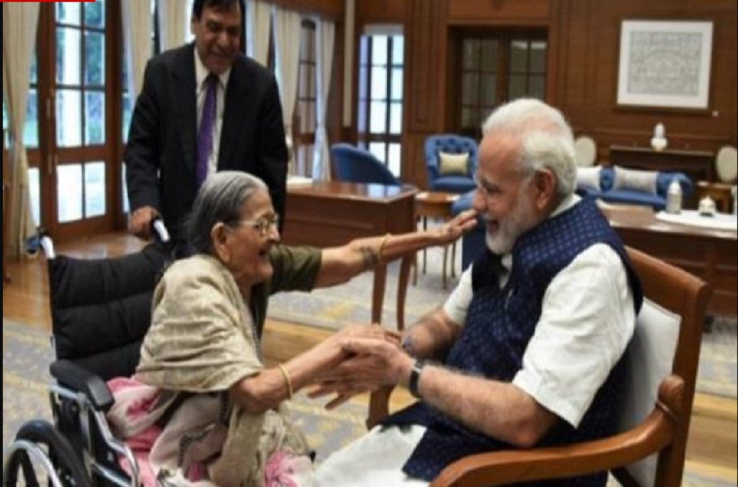 PM Modi's Rakhi sister died and Will be the funeral today