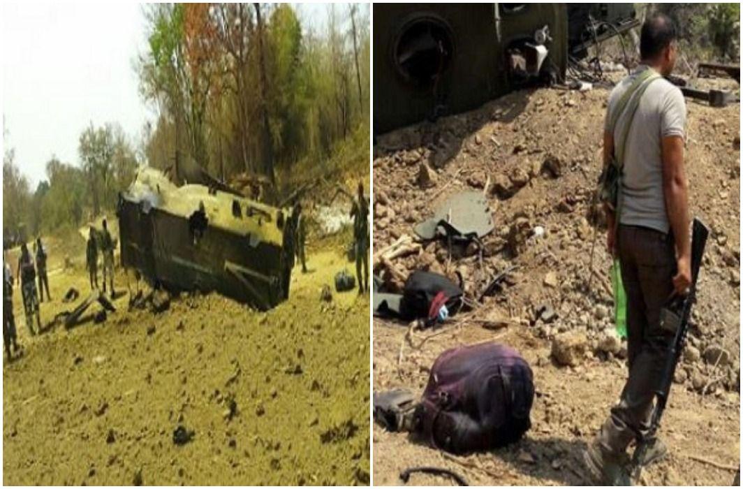 Naxal attack in Chhattisgarh's Sukma , 9 CRPF martyred
