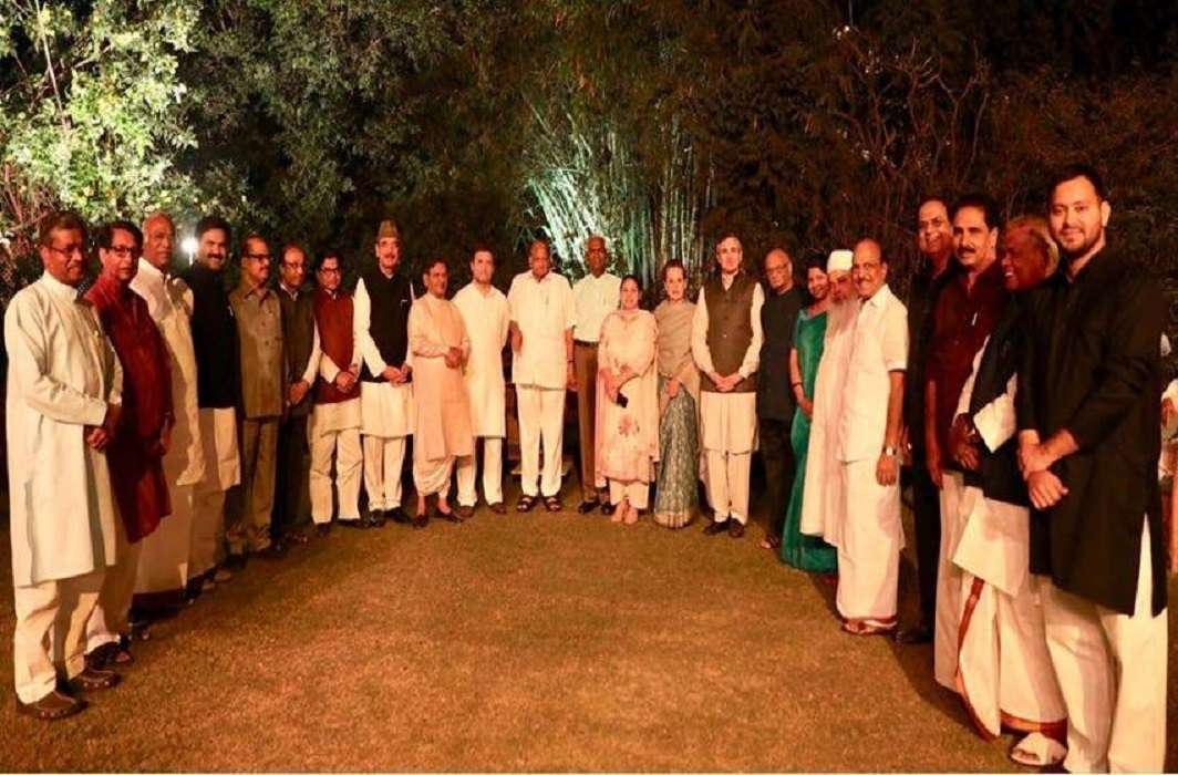 Sonia's organized dinner diplomacy BJP's Vijay Rath
