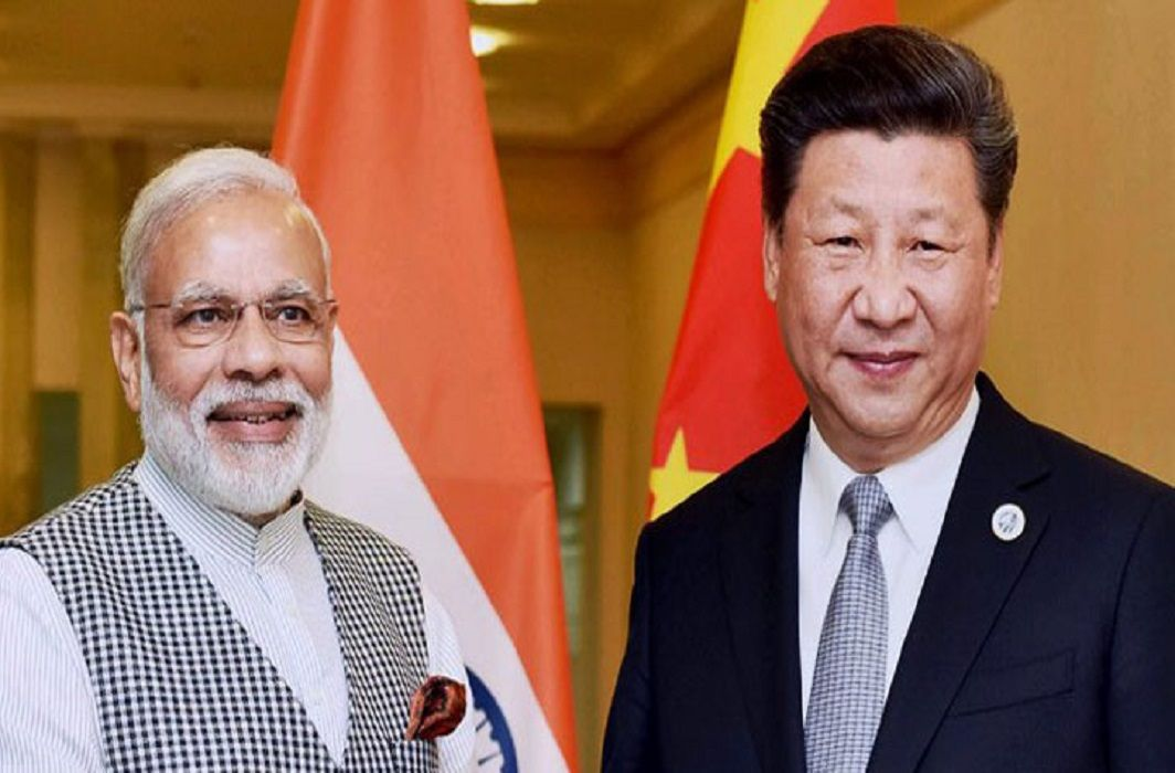 PM Modi congratulated Jinping on re-elected President