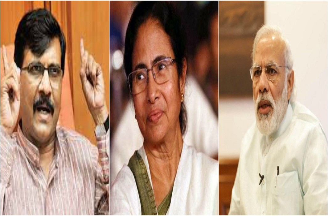 Modi can meet Nawaz Sharif then Shiv Sena Why not with Mamata Banerjee: Sanjay Raut