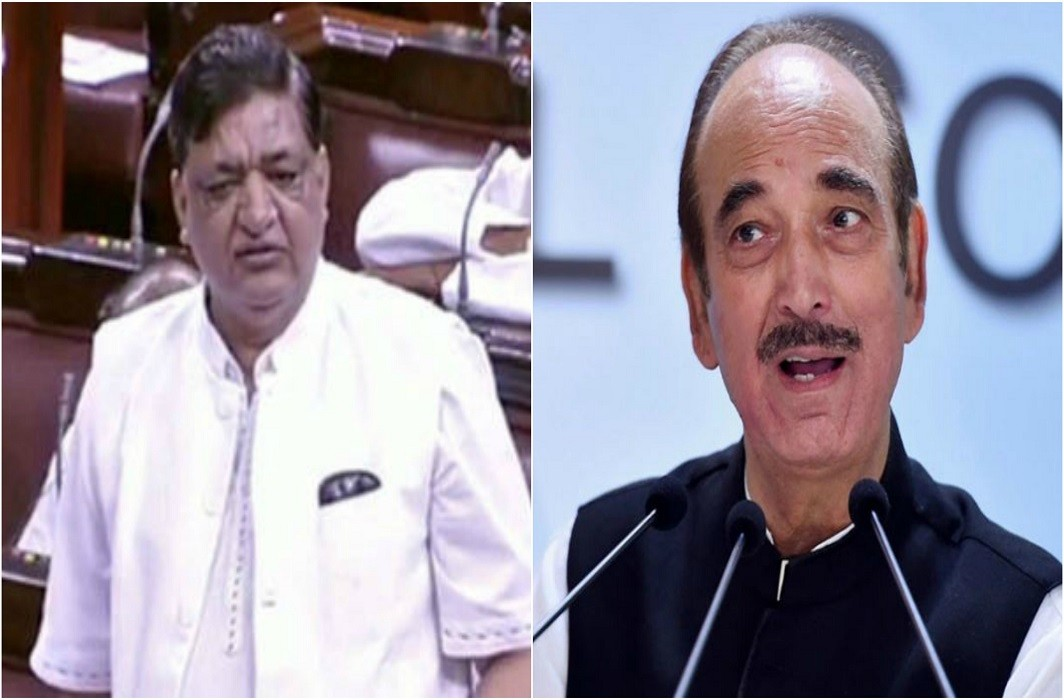 Naresh Agrawal expressed his gratitude to PM, Ghulam Nabi Azad gave a comment