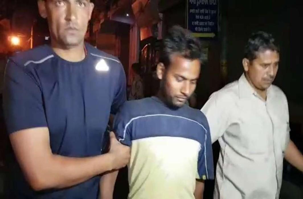 Bihar's Naxalite, arrested in Noida