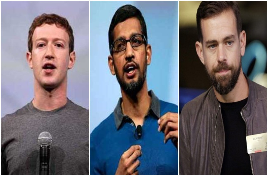 US Senate has summons FaceBook, Google, Twitter CEOs