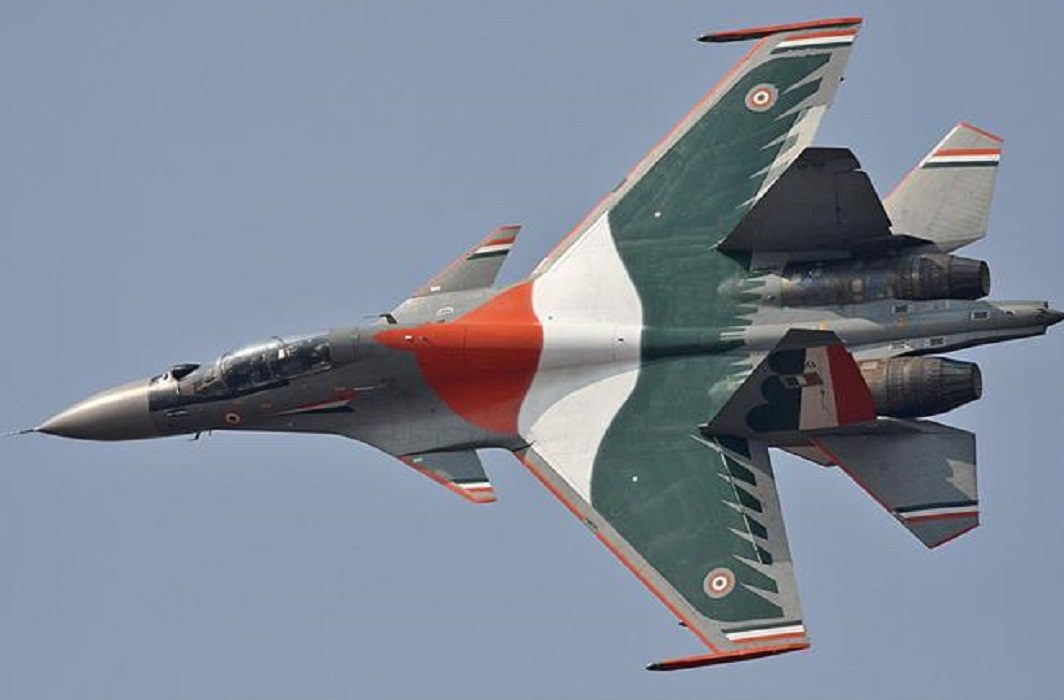 The Indian Air Force has shown its strength