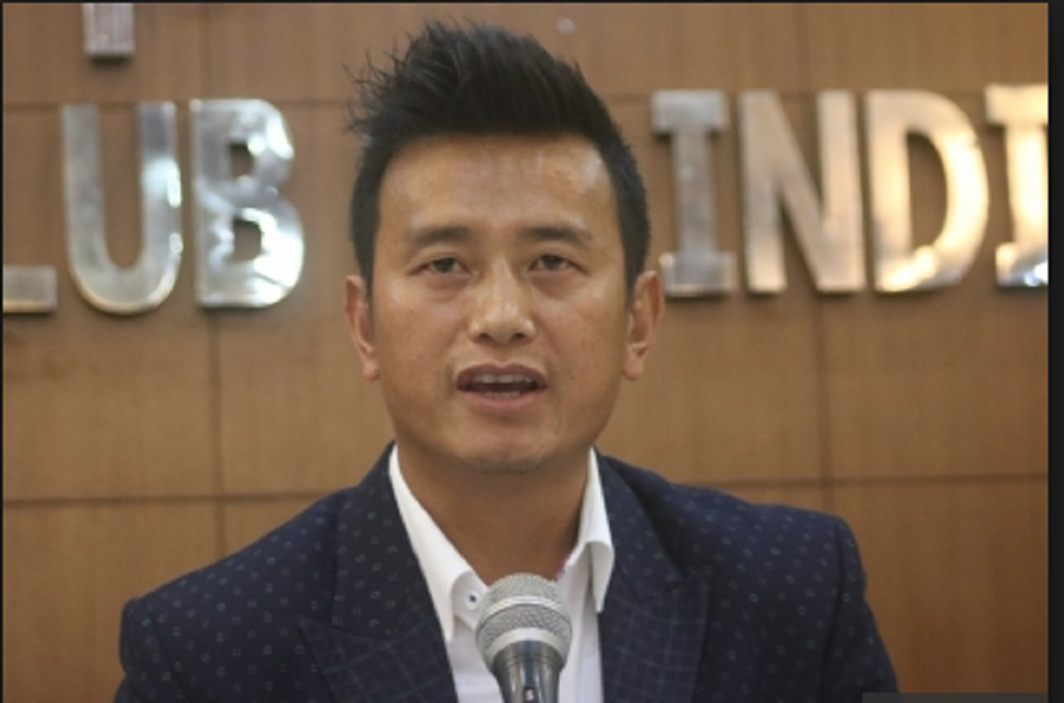 Former footballer Bhaichung Bhutia launches new party named 'Hamro Sikkim'