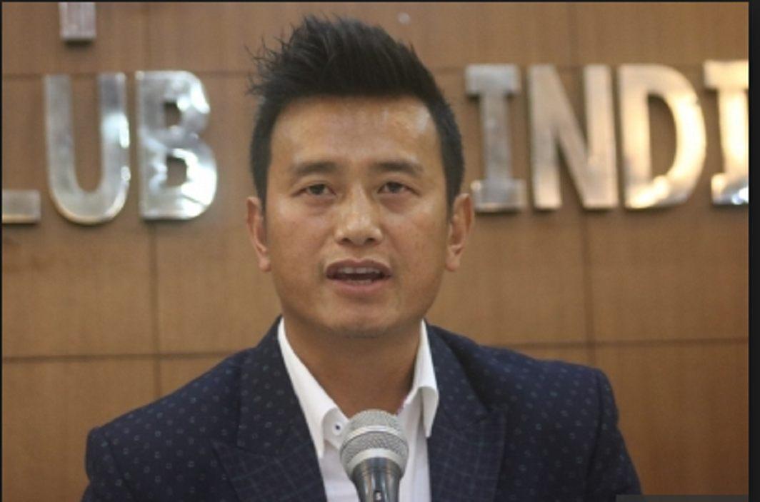 Former footballer Bhaichung Bhutia launches new party named 'Hamro Sikkim'