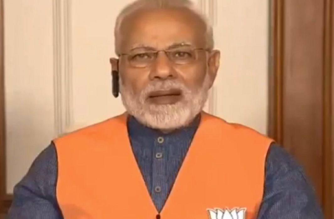 PM Modi gave the 'victory mantra' given to the candidates in the wake of Karnataka elections