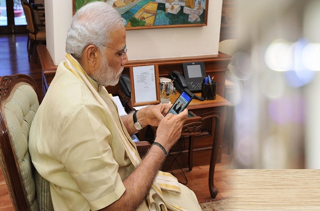 PM Modi teaches 'development' to BJP MPs through Namo App