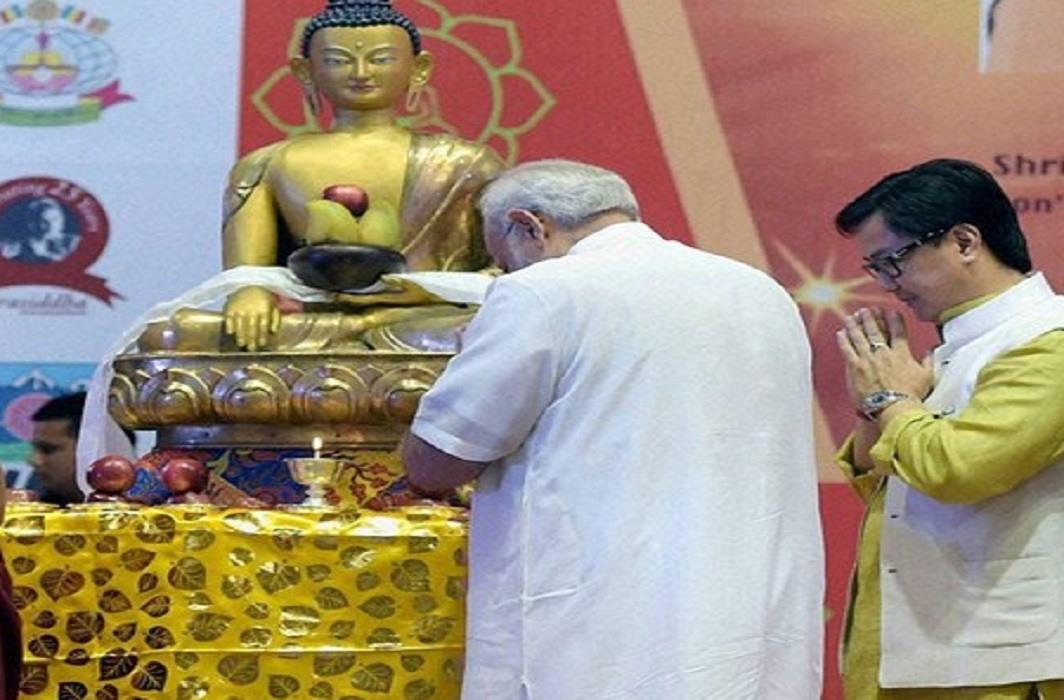 PM Modi wishes countrymen on Buddha Purnima. Inauguration of Jubilee celebrations