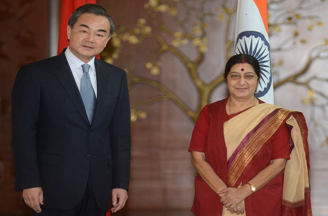 Sushma Swaraj will meet Chinese Foreign Minister today