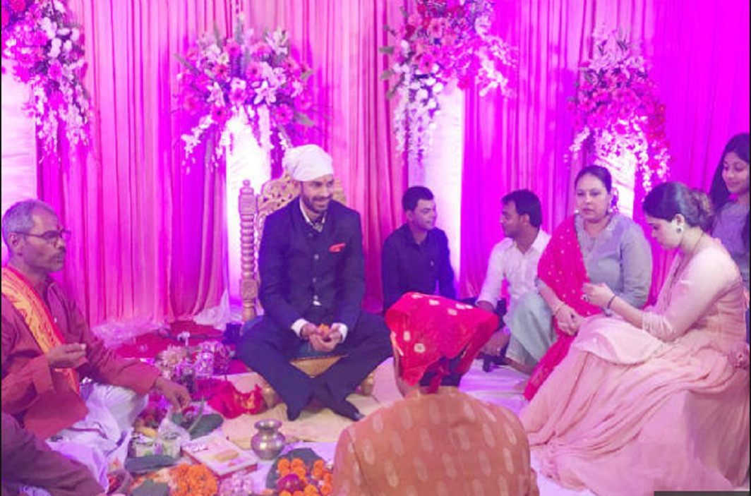 Engagement of Tej Pratap and Aishwarya