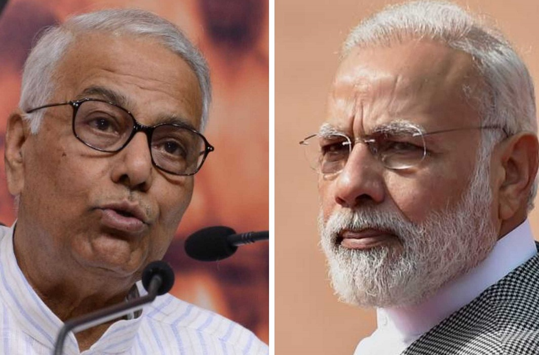 Yashwant Sinha's Politics only for the country, Not for BJP, Democracy in danger