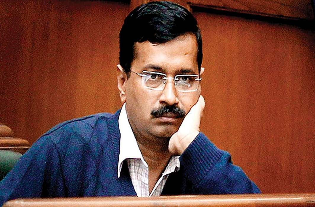 "Kejriwal alleges, ""LG sahib comes out fighting wife and gets angry at work"""
