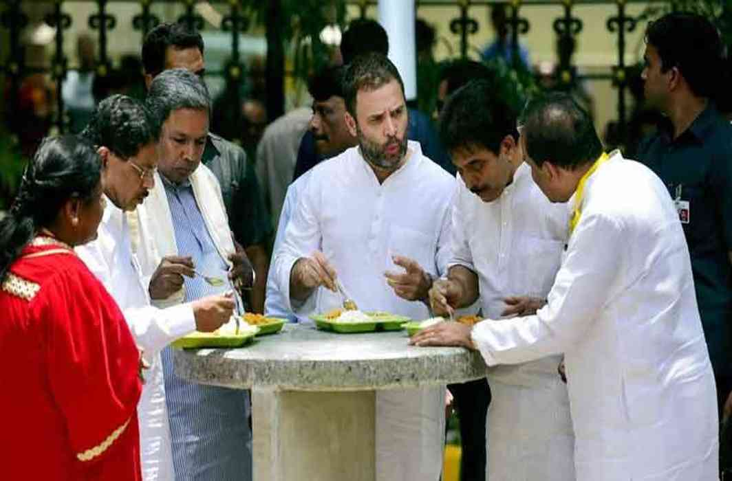 Rahul's shouts in Yediyurappa's stronghold, The government of the hand again
