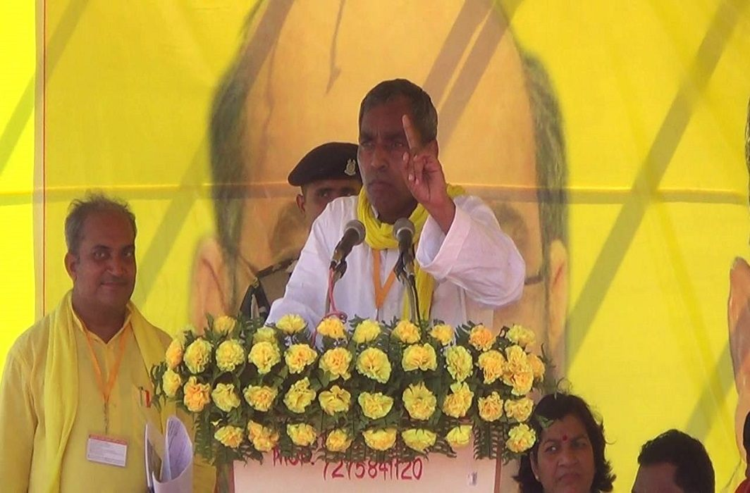 Om Prakash Rajbhar described all NDA legislators as worthless