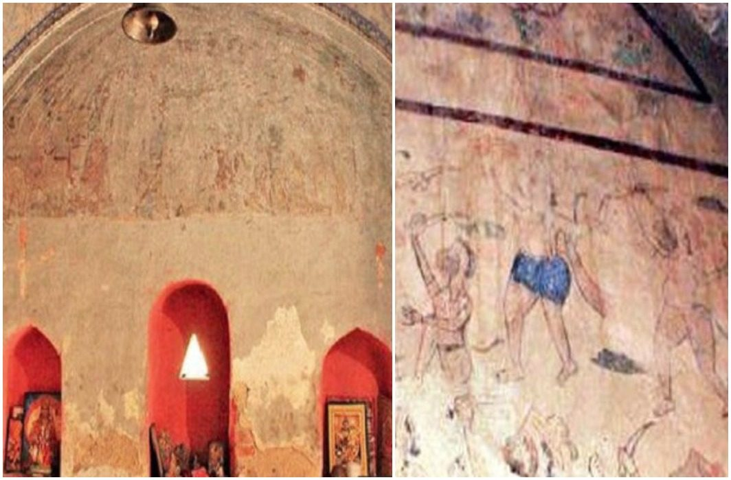 200 years old temple of southwest Delhi got along with Archeology Department