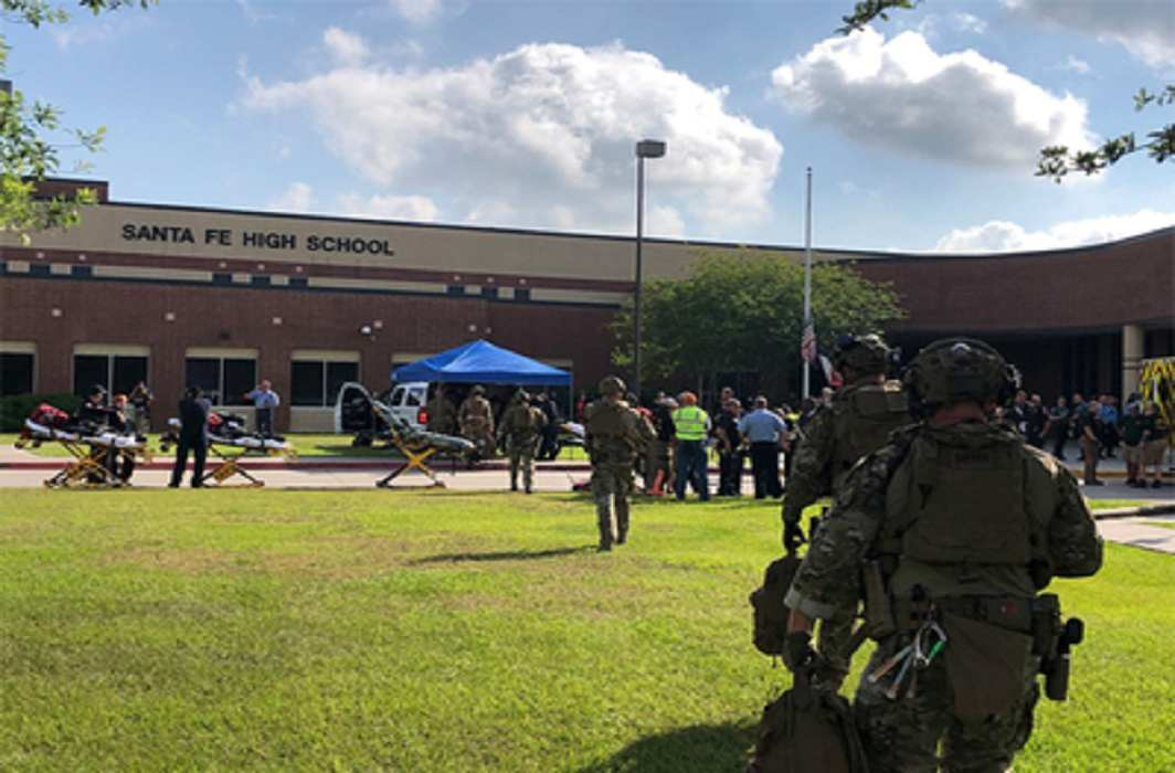 America: Firing at a Texas school, killing 10 people