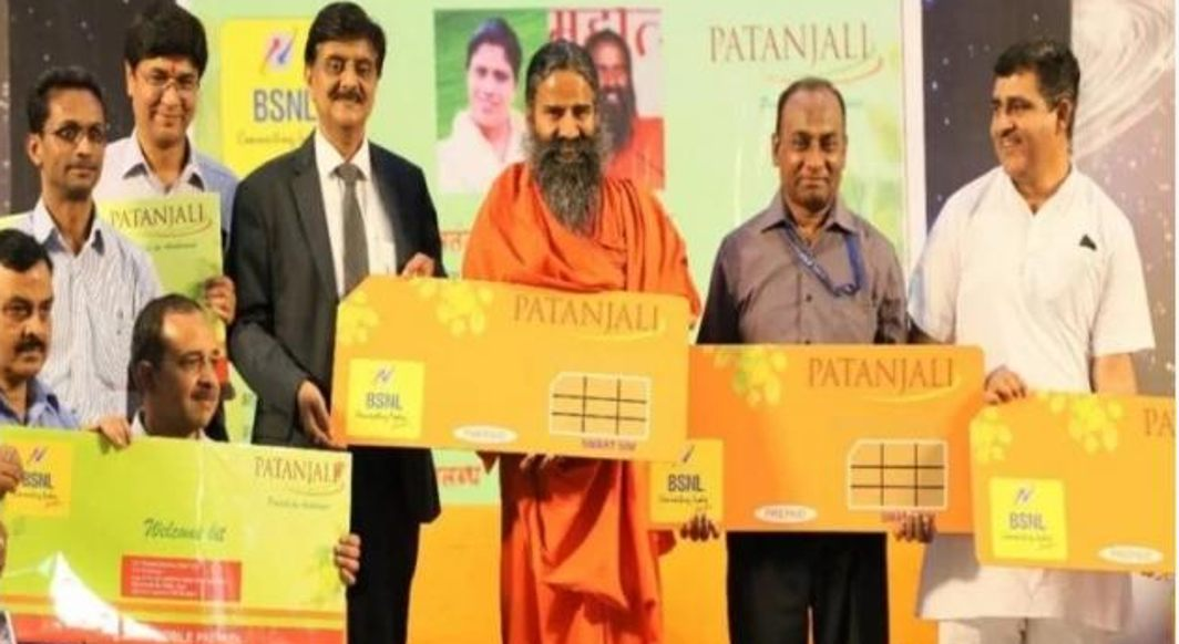 Baba Ramdev launches Patanjali Simcard