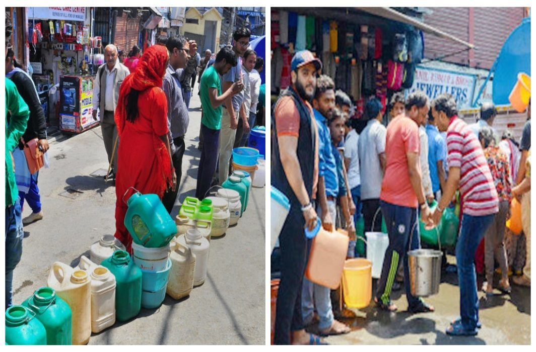 Craving for water in simla, People appeal to tourists - please do not come here
