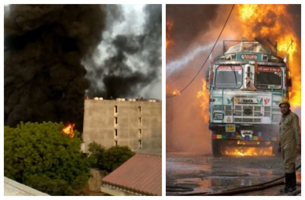 Delhi: heavy fire in the rubber warehouse of Malviya Nagar, Even after 18 hours the fire is uncontrollable