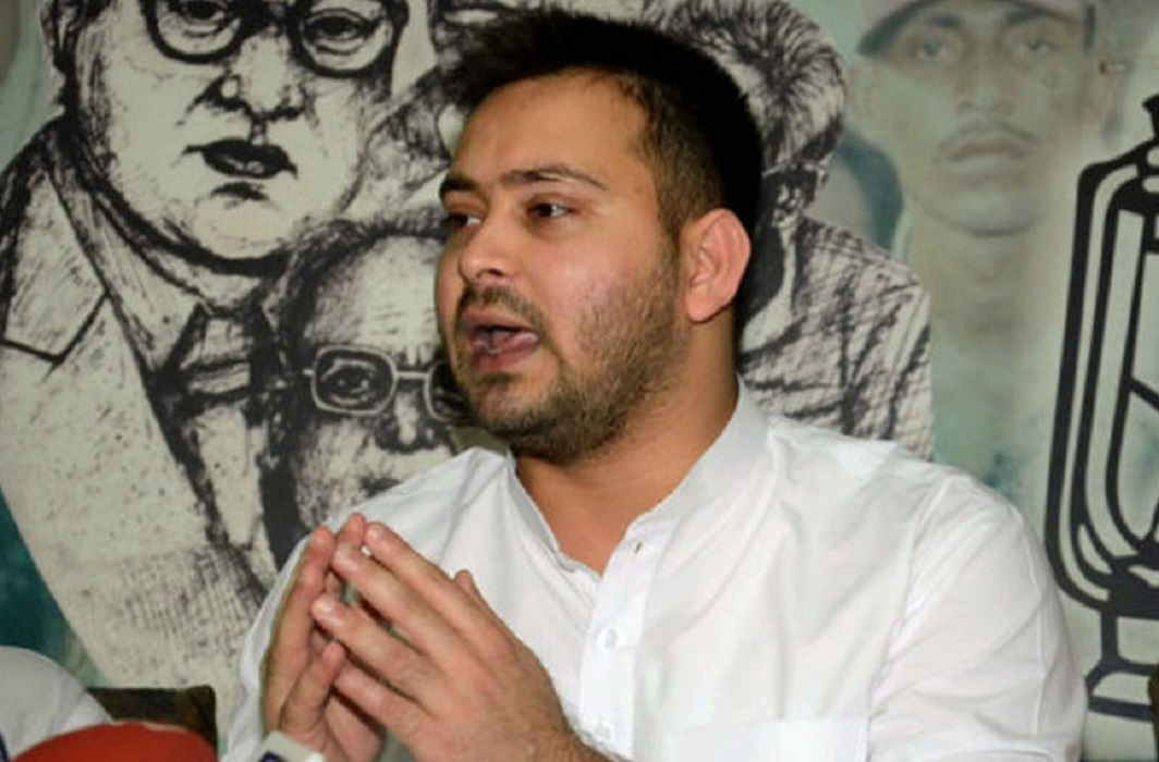 JDU attack on Tejaswi Yadav on majoriti
