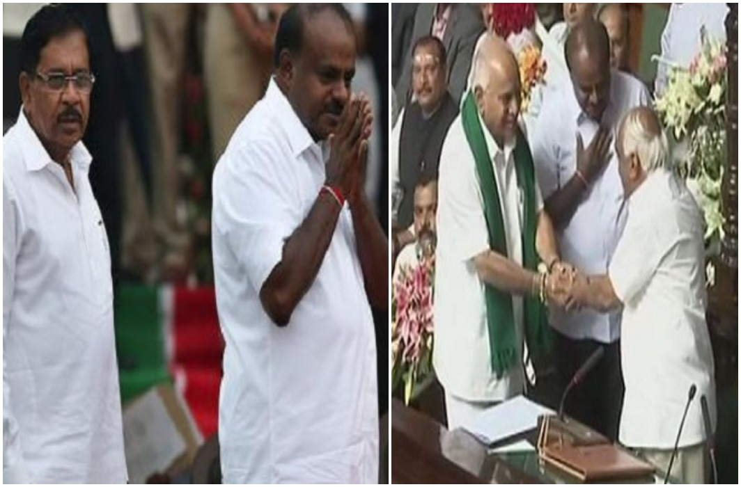 Kumaraswamy proved the majority in Karnataka, K R Ramesh Kumar was appointed as speaker
