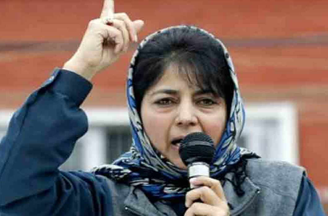 Mehbooba Mufti demands for Siegefire from Modi Government till the ramzan and amarnath yatra