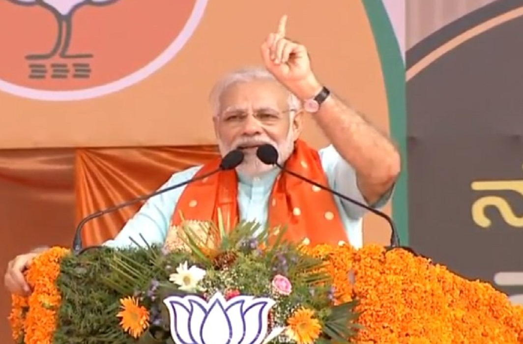 Modi accepted Rahul's challenge and said, say first 15 minutes if right