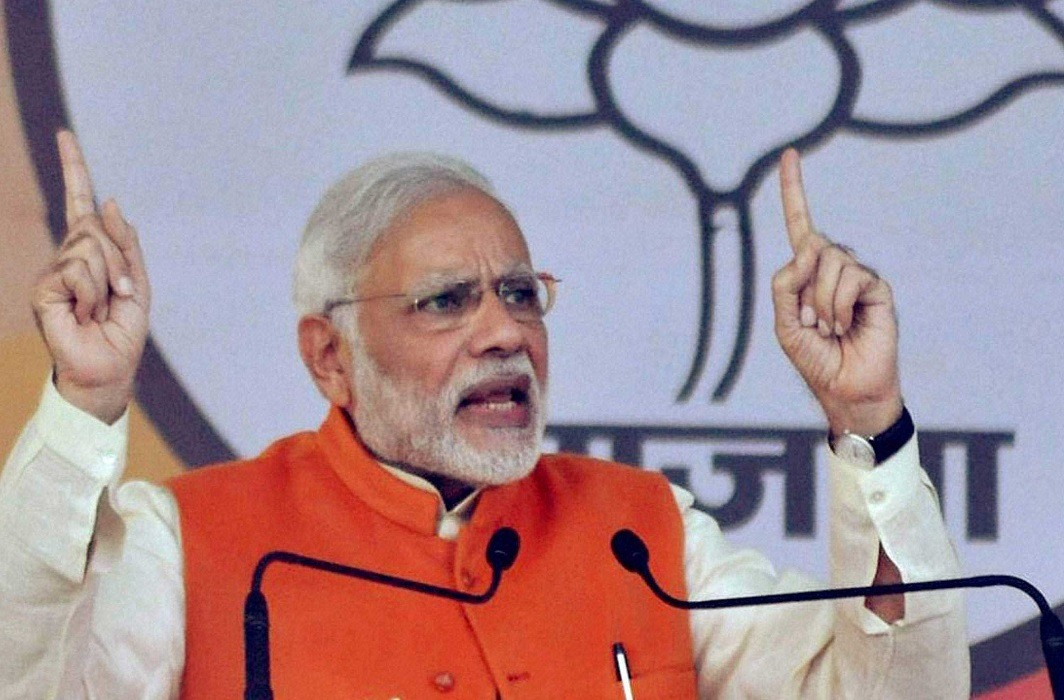 PM Modi has started election campaign for Karnataka polls. the campaign started with 3 rallies