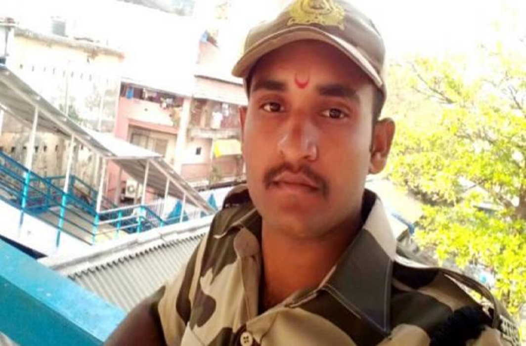 RPF jawan saved lives of five-year-old girl on life, Recorded in CCTV