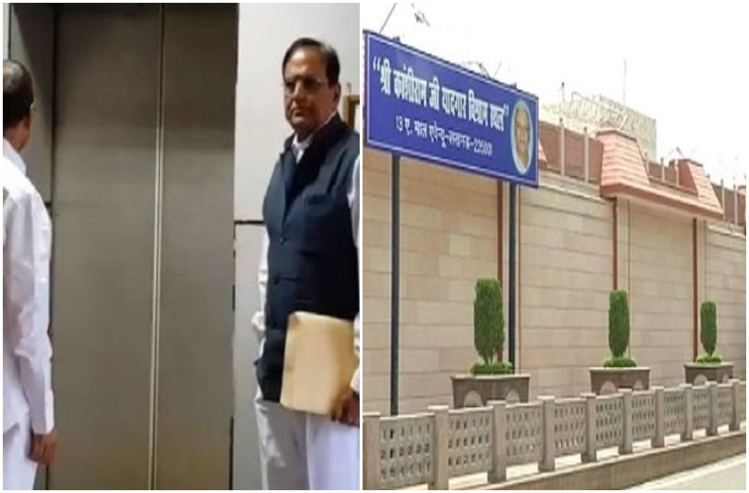 Satish Chandra meets CM Yogi on BSP supremo Mayawati's official bungalow