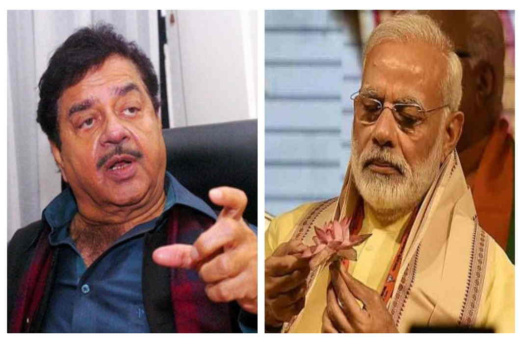 Shatrughan's attack on Modi, No one becomes wise by becoming prime minister