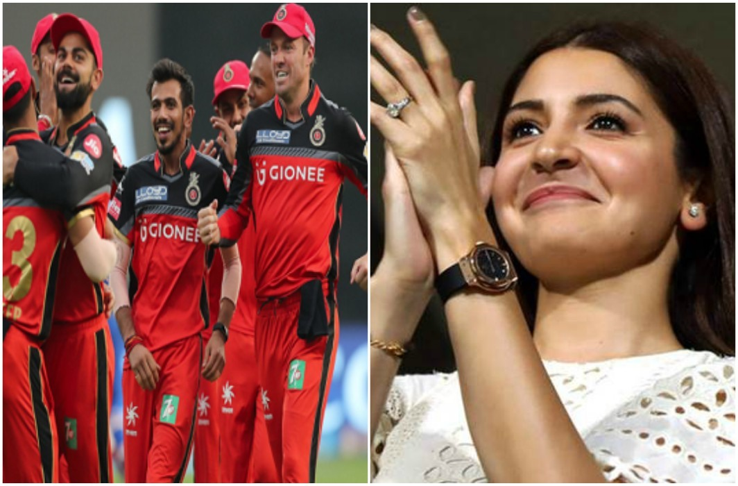 Virat Kohli gives to wife Anushka's birthday gift by won cricket.  Beat Mumbai by 14 runs
