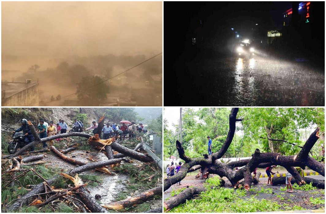 heavy Devastation by Thunderstorm In many states, 11 people Died in UP