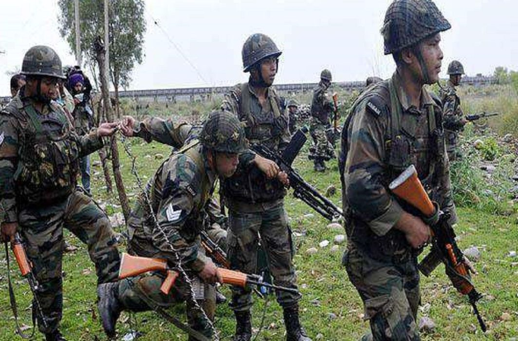 in the month of Ramzan, firing from Pakistan,   Indian army martyred