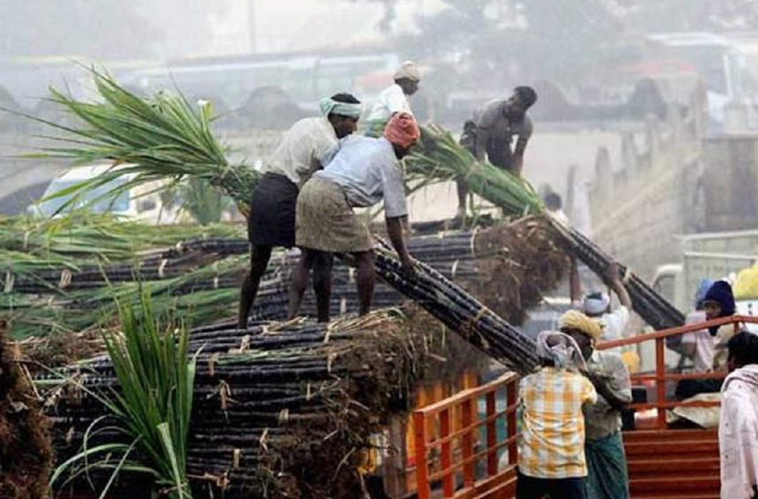 Increase in income of sugarcane farmers by implementing eight point programs in UP