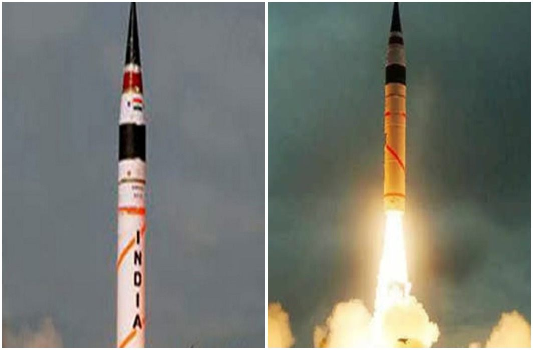 India successfully test-fires nuclear-capable Agni-5