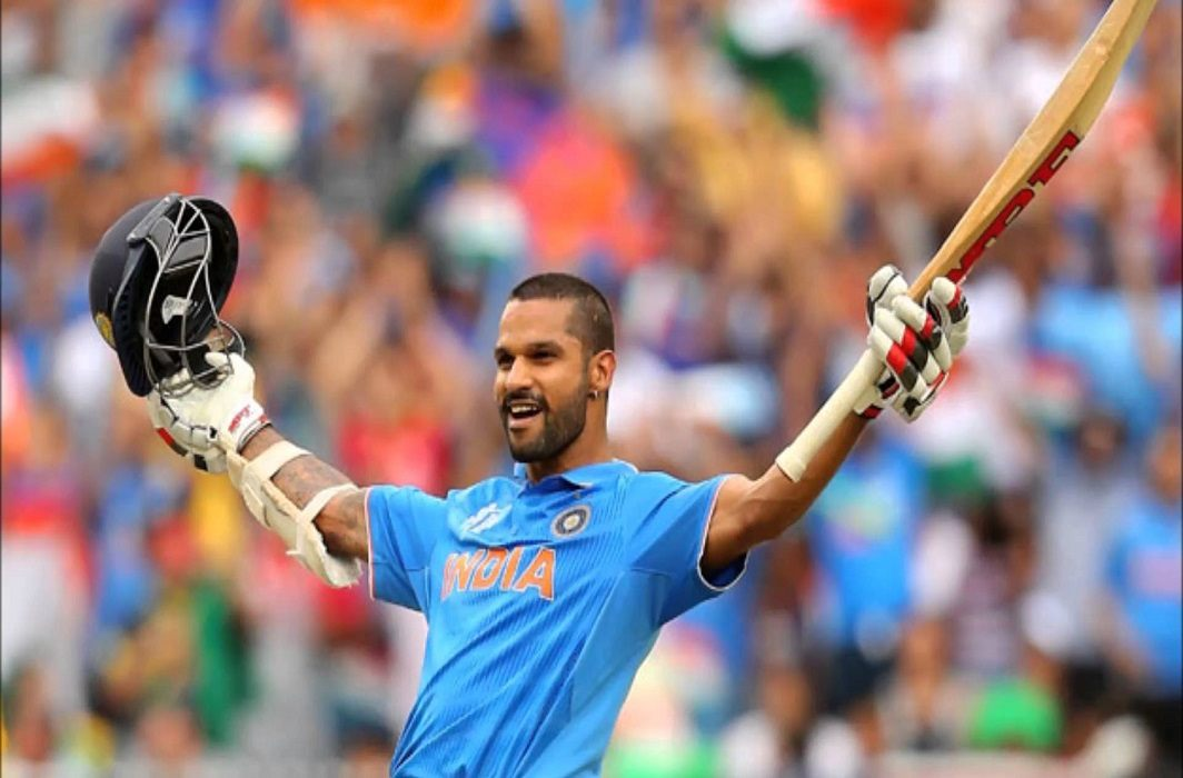Big achievement by Dhawan,First Indian to become century first century