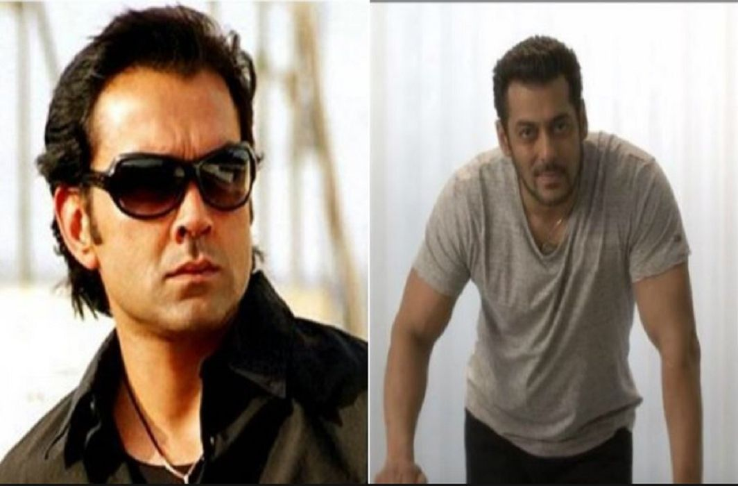 Bobby Deol and Salman Khan