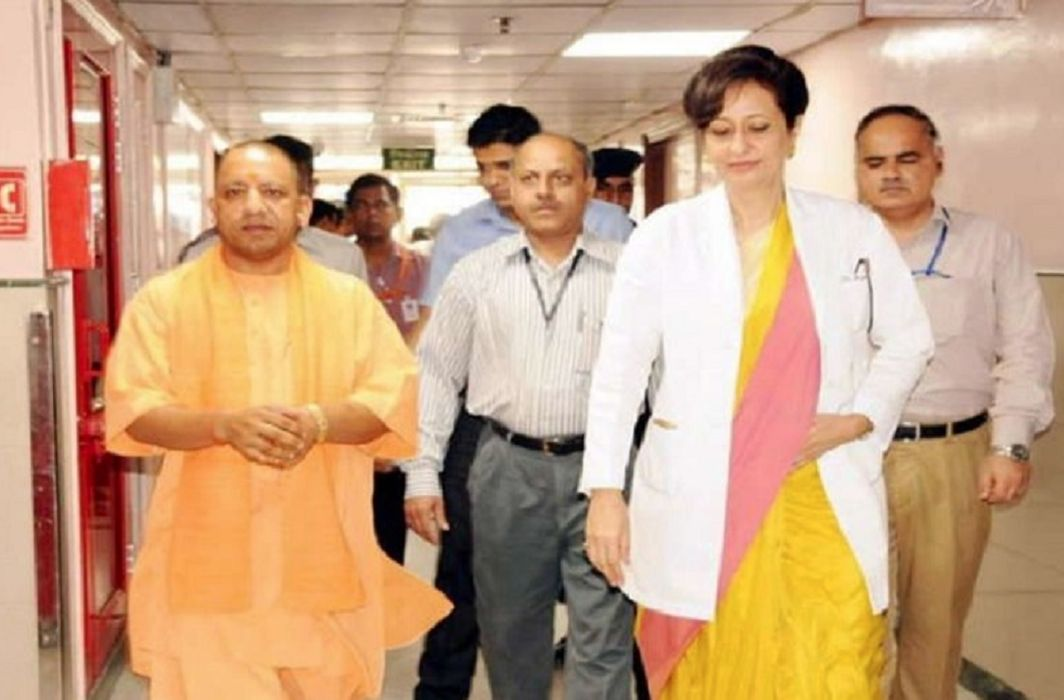 CM Yogi came to meet Keshav Prasad Maurya, admitted in AIIMS, Meet with Amit Shah
