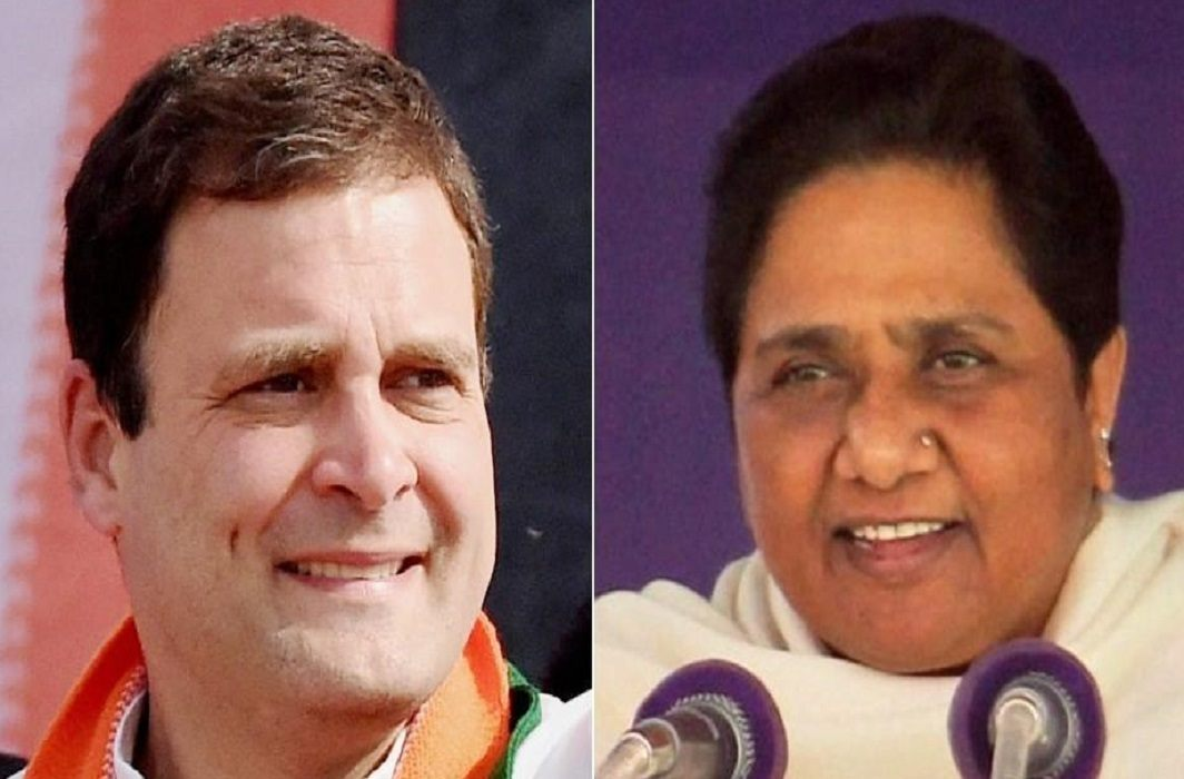 Congress-BSP will fight in collision with BJP in three state