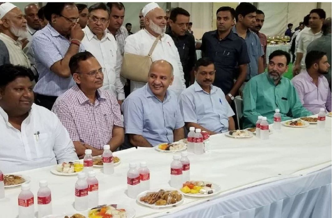 Iftar Party of cm arvind kejriwal has flop,   LG and opposition did not reach the party