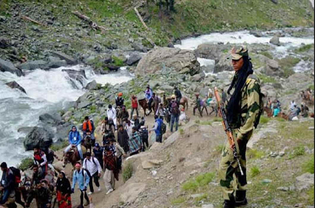 Planning of terrorism attack on Amarnath yatra and 48 terrorists target to this
