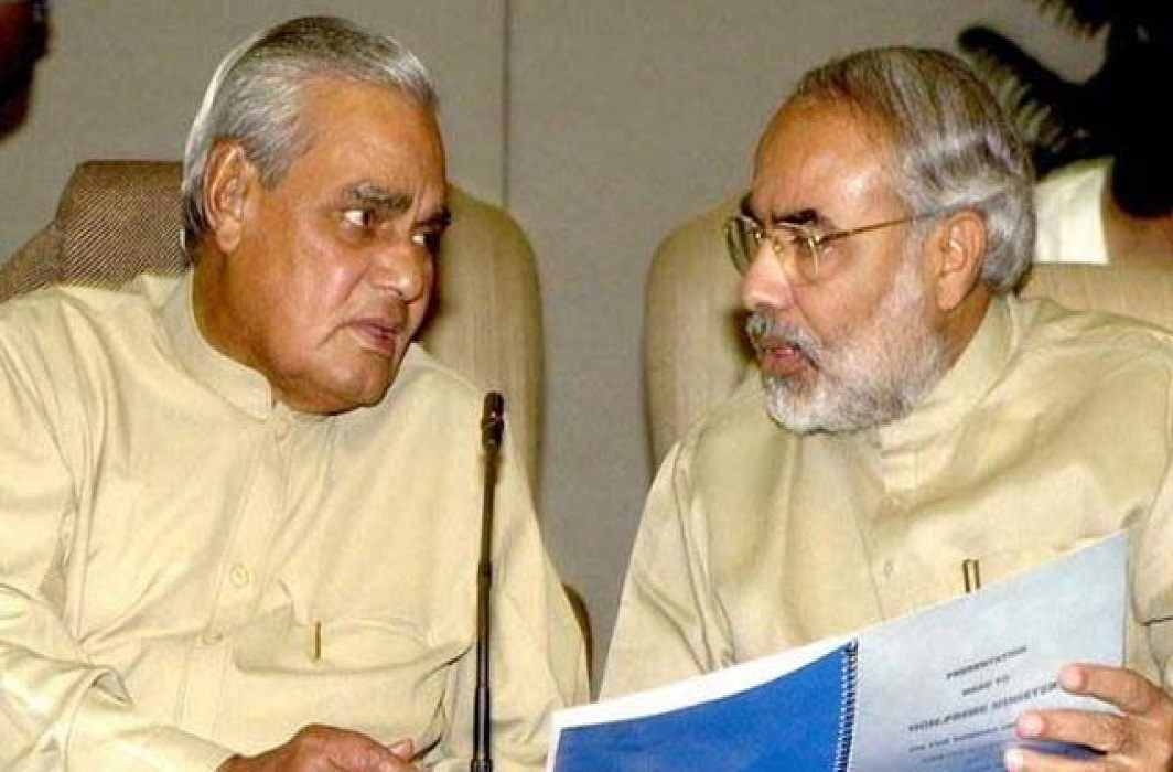 Prime Minister Modi arrived in AIIMS to meet former Prime Minister Vajpayee without security and protocol