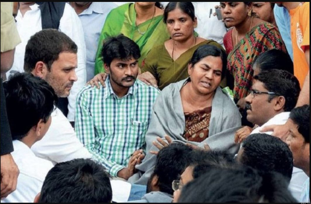 Vamula's mother opened the secret,They had been compensation to speak against Modi