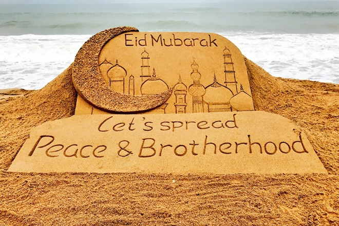 Eid celebration across the country, Many leaders including PM Modi and President gave Congratulations