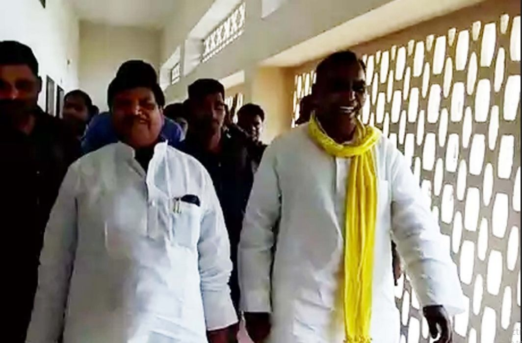 Rajbhar and Shivpal